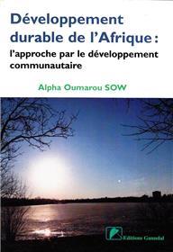 Développement durable de l´Afrique : l´approche par le développement communautaire