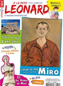 Le Petit Léonard N°239 Miro - octobre 2018