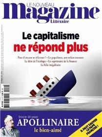 Le Nouveau Magazine Littéraire N°10  Le capitalisme ne répond plus - octobre 2018