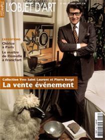 L´objet d´Art N°443 Collection Yves Saint-Laurent - février 2009
