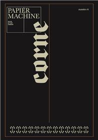 Papier Machine N°8 Corne - novembre 2018