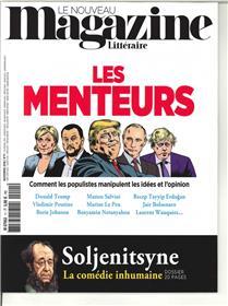 Le Nouveau Magazine Littéraire N°11 Les menteurs  - novembre 2018
