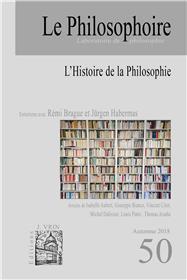 Le Philosophoire N°50 - L´Histoire de la philosophie - automne 2018