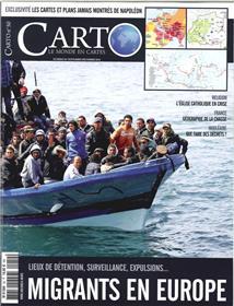 Carto n°50 -  L´accueil des migrants en Europe - Novembre - Décembre 2018