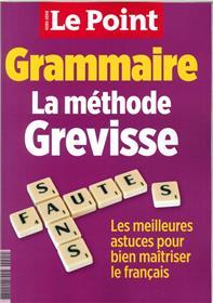 Le Point HS Grammaire La méthode Grevisse  - novembre 2018