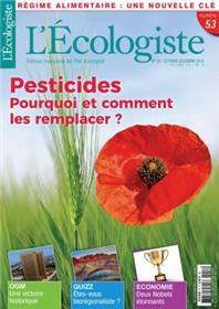 L´écologiste N°53 Pesticides octobre/décembre 2018