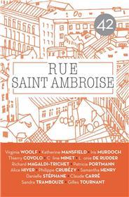 Revue Rue Saint Ambroise n°42