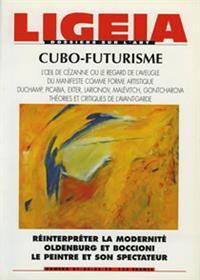 LIGEIA N°21 cubo-futurisme