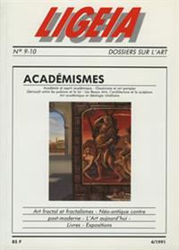 LIGEIA académismes - LIGB9