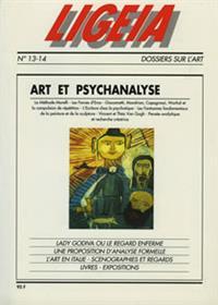 LIGEIA N°13 art et psychanalyse