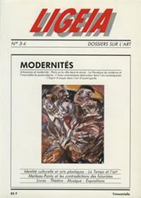 LIGEIA N°3 modernités