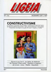LIGEIA N°5 constructivisme