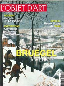 L´Objet d´Art N°551 Bruegel à Vienne - décembre 2018