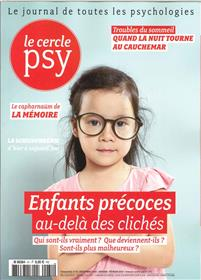 Le Cercle Psy N°31 Enfants precoces  décembre/janvier/février -  2018-2019