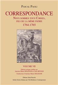 Paoli correspondance volume 7