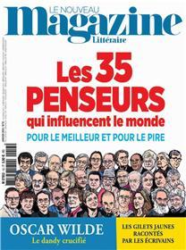 Le Nouveau Magazine Littéraire N°13 - Les 35 penseurs - janvier 2019