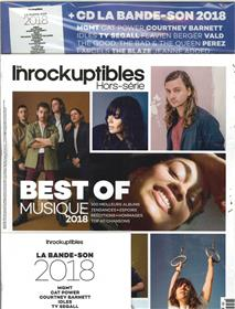 Les Inrockuptibles HS N° 94 Best of 2018 + CD - décembre 2018