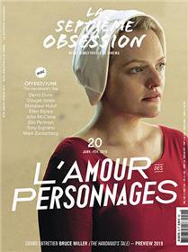 La Septième obsession N°20 L´amour des personnages - janvier/fevrier 2019