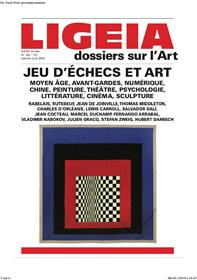 Ligeia N°169/172 Jeu d´échecs et art - janvier-juin 2019