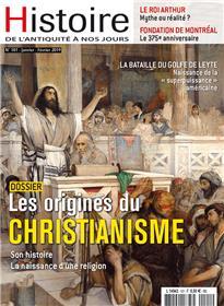 Histoire de l´Antiquité à nos jours N°101 Origines du Christianisme - janvier/fevrier 2019