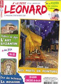 Le Petit Léonard N°242 L´Art Byzantin - janvier 2019