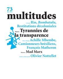 Multitudes N°73 - Transparence - janvier 2019