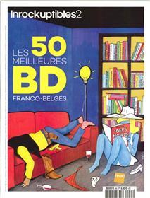 Les Inrockuptibles2 N° 85 - Les 50 meilleures BD Franco Belges - janvier 2019