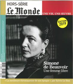 Le Monde HS Une vie/une oeuvre N°40 Simone de Beauvoir - février 2019 (réédition)