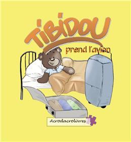 Tibidou prend l´avion
