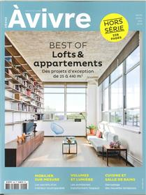 Architectures à Vivre HS N°42 - Best of appartements - mars/avril/mai 2019