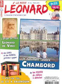 Le Petit Léonard N°244 Le château de Chambord - mars 2019