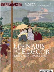 L´objet d´Art HS N°136 Les Nabis et le décor  - mars 2019