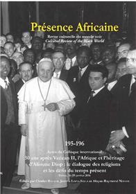Présence Africaine n°195/196 - 50 ans après Vatican II