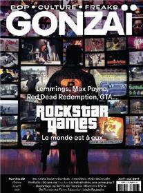 Gonzaï N°20 Rockstar Games - avril/mai 2017