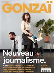 Gonzaï N°23 Nouveau journalisme - décembre/janvier 2018