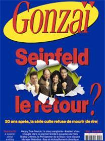 Gonzaï N°25 Seinfeld le retour - mai/juin 2018