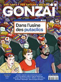 Gonzaï N°27 Dans l´usine des putaclics - octobre 2018