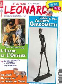 Le Petit Léonard N°245 - Alberto Giacometti - avril 2019