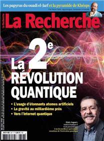 La Recherche N°547  LA 2e révolution quantique - mai  2019