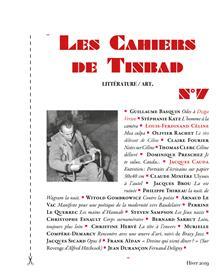 Les Cahiers de Tinbad n°7