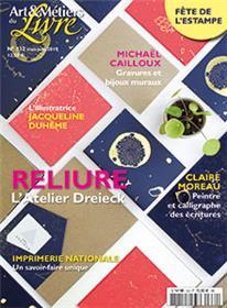 Art et métiers du livre N°332 L´atelier de Dreiek - mai/juin 2019