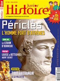 Histoire Junior N°85 Periclès, l´homme fort d´Athènes - mai 2019