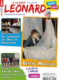 Le Petit Léonard N°247 Berthe Morisot - juin 2019