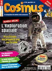 Cosinus N°216 L´exploration spatiale - juin 2019
