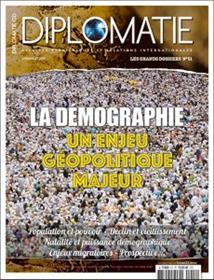 Diplomatie GD N°51 La démographie   - juin/juillet 2019