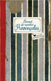 Carnet de recettes Provençales