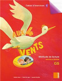 Aux 4 Vents (NE) - Cahier d´exercices 1 GS
