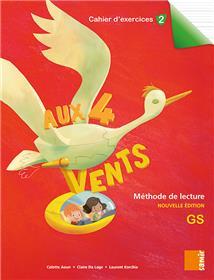 Aux 4 Vents (NE) - Cahier d´exercices 2 GS