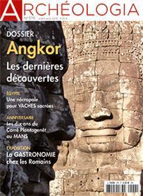 Archéologia N°578  Angkor - juillet/août 2019