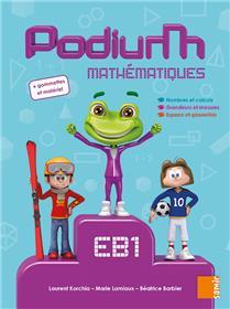 Podium - Livre-cahier EB1